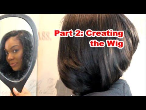 U-part BOB wig Tutorial Part 2| Quick weave method