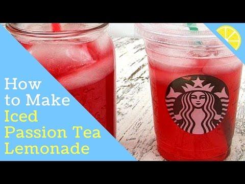 Starbucks Iced Passion Tea Lemonade