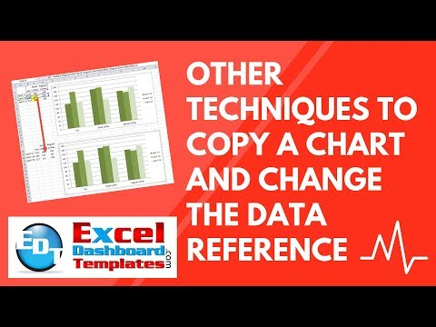 Other Techniques to Copy an Excel Chart and Change the Data Reference