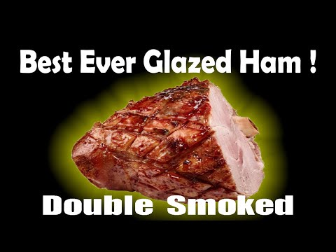 Ham Recipe - Pineapple Sriracha Glazed Ham - How To Double Smoke a Ham