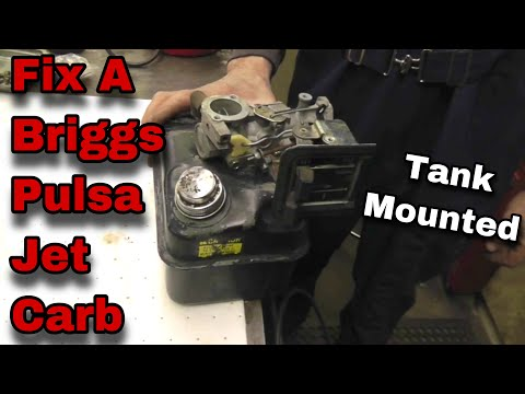 How To Fix A Briggs and Stratton Pulsa Jet Carburetor with Taryl