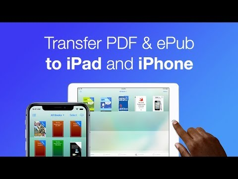 How to Transfer PDF & EPUB to iPad and iPhone WITHOUT iTunes
