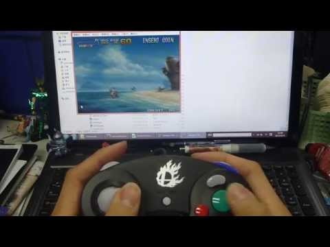 HOW TO USE MAY FLASH 4 PORTS GAMECUBE CONTROLLER ADAPTER FOR WII U AND PC USB