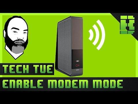 Virgin Media Hub 3.0 Modem Mode  / Router Settings Tutorial