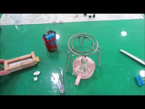 Melting Lead Solder and Casting an Ingot