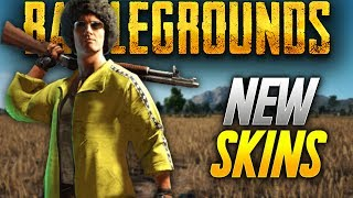 Battlegrounds: NEW SKINS ANNOUNCED ! (Playerunknown