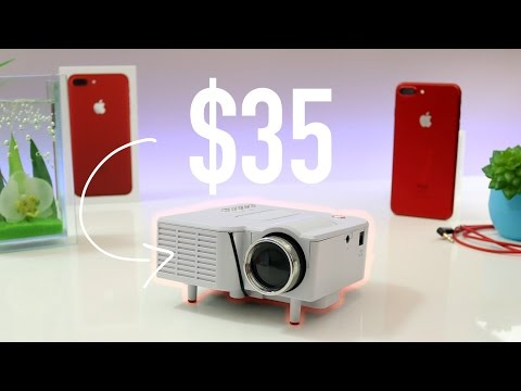 $35 Budget LED Mini Projector Home Cinema - Should you Buy? Overview | 4K