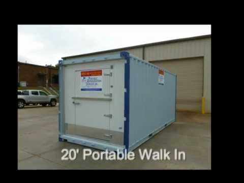 Portable Walk In Coolers & Freezers