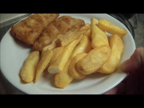 Mainstays Turbo Oven Frozen Fish and Chips
