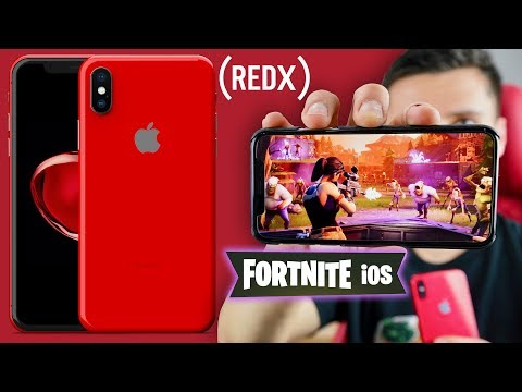 Fortnite on iPhone! RED iPhone X, iPad X & AirPods 2 Release Date!