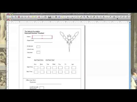 How to create an Interactive PDF using Scribus