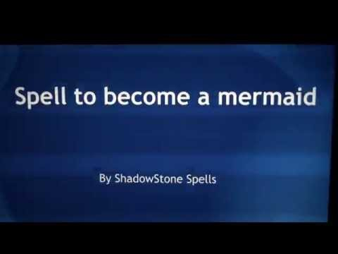 Spell to become a Mermaid