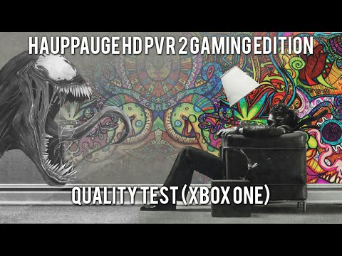 Hauppauge HD PVR 2 Gaming Edition Quality Test [Xbox One]