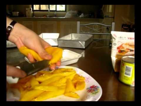 [Kaoru's Kitchen] Graham Mango Float