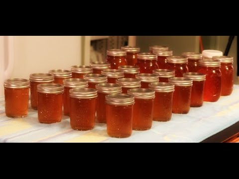 CANNING: Apple & Pear Fruit Syrup/Honey