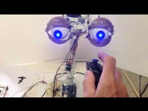Animatronic eyes