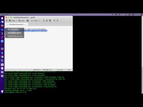 Install Display Network Traffic Speed on Linux Ubuntu