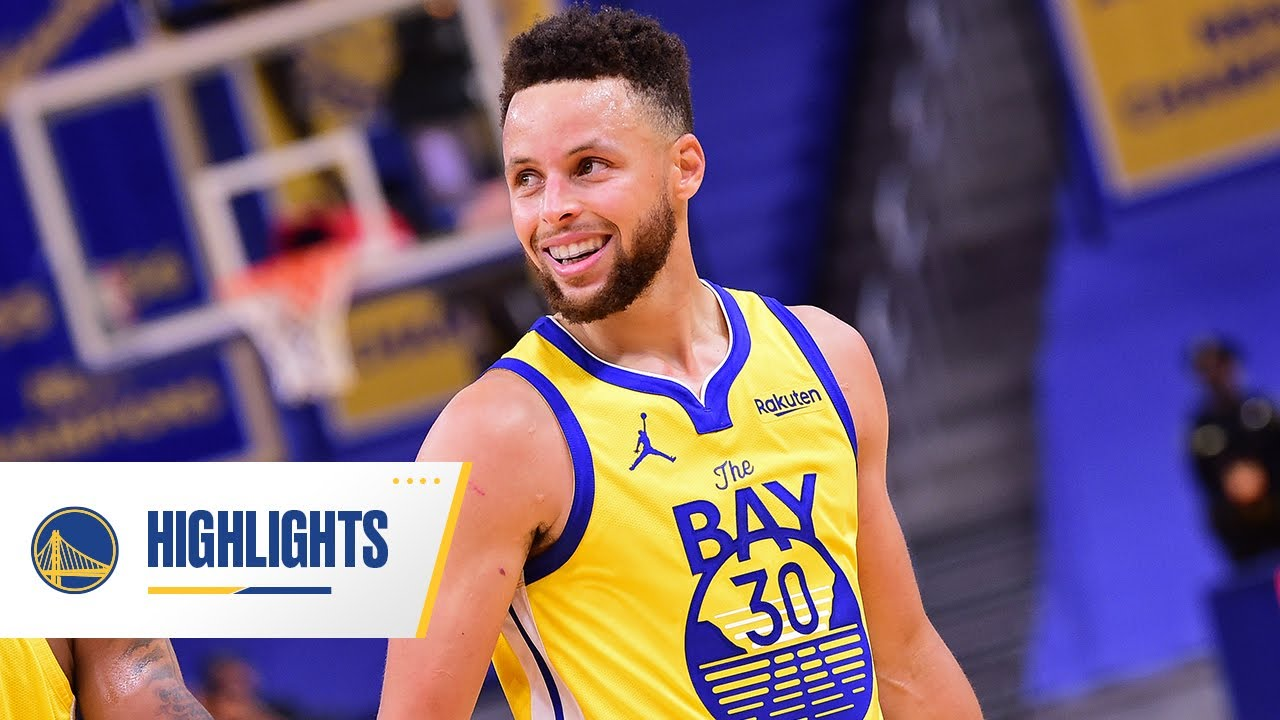 Stephen Curry Drops 41 Points in Warriors' Comeback Win Over Bucks | April 6, 2021