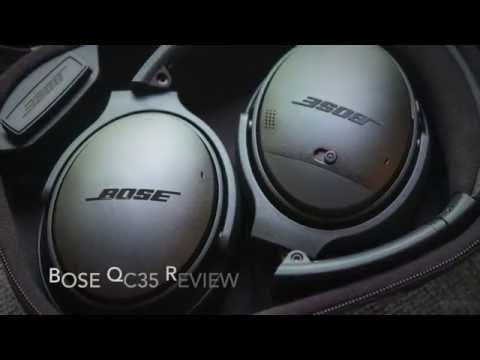 Bose QC35 Review, Unboxing, & Setup
