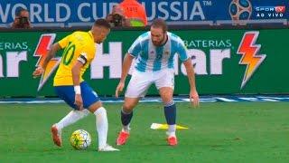 Neymar vs Argentina (Home) 16-17 HD 720p – Brazilian Commentary