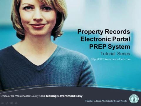 Entering a Deed in the PREP System