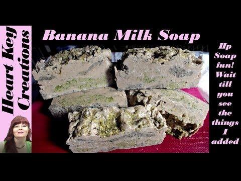 Banana Milk HP Soap Making