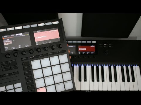 Beat Making With Maschine MK3 + Komplete Kontrol MK2