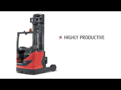 Linde R Series Moving Mast Reach Forklift