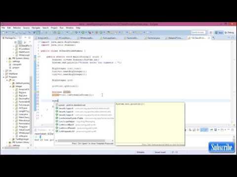 Java biginteger #7 Prime number and GCD using function in java biginteger