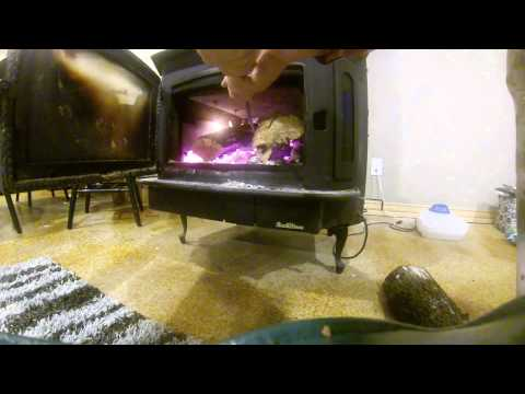 How to load up a wood stove