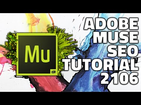 Adobe Muse #SEO #Tutorial 2016 - On page made simple!