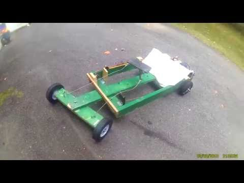 tutoral how to build an electric wood go kart