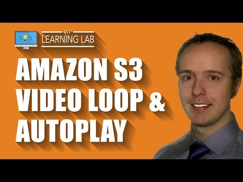 Amazon S3 Autoplay and Loop