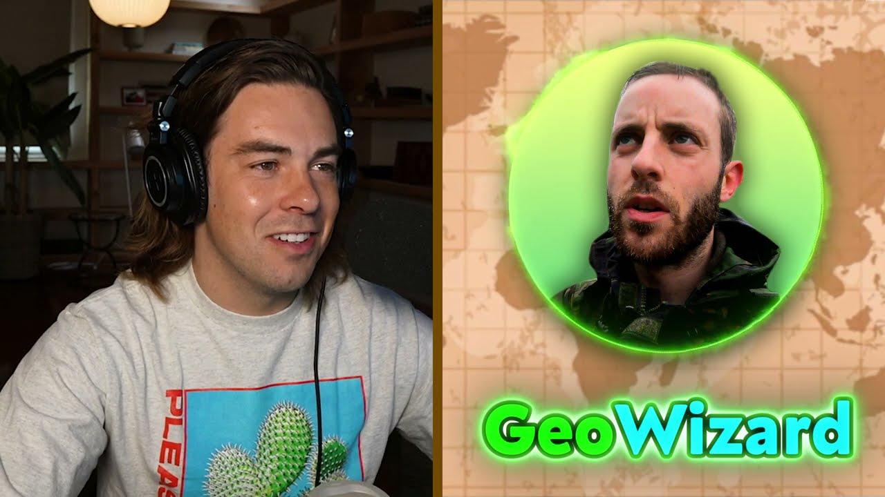 Playing Geoguessr w/ GeoWizard!
