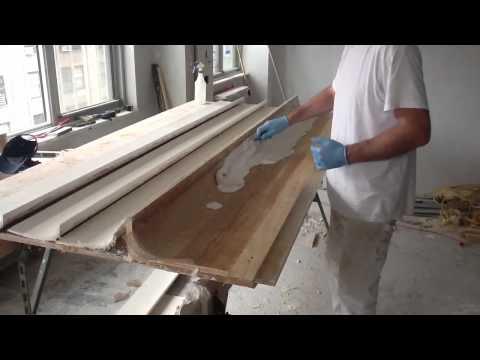Handmade plaster moldings