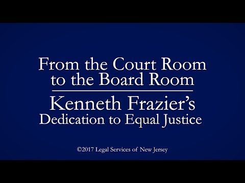 From the Court Room to the Board Room: Kenneth Frazier's Dedication to Equal Justice