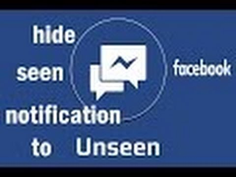 how to hide seen on facebook /disable seen notification on facebook/ seen notification on facebook