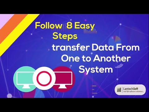 8 Easy Steps Transfer Data From One to Another System