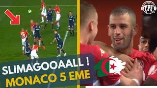 Monaco-Montpellier : 1-0 | SLIMAGOAL ! MORENO LAISSE L'ALGÉRIEN SLIMANI TITULAIRE ! 3 PTS DU PODIUM