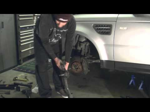 Land Rover Range Rover Sport Supercharged Lower Control Arm Replacement Tutorial