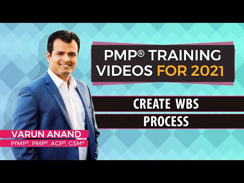 PMBOK 6 Edition Videos - Scope Management - Create WBS Video -5 (2018)