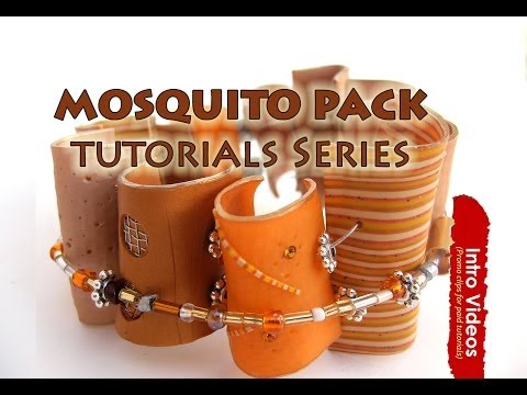 PROMO INTRO PolyPediaOnline TV - How To Create Strong Polymer Clay Creations - Mosquito Technique