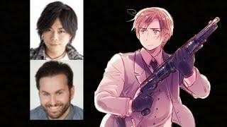Anime Voice Comparison- Romano (Hetalia)