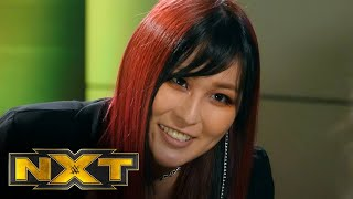 Io Shirai reflects on her reign and looks forward: WWE NXT, April 20, 2021