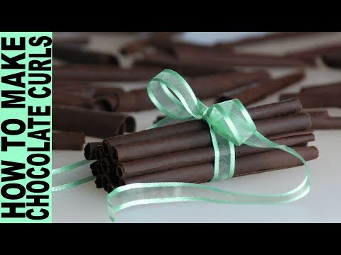 How to Make Chocolate Curls How To Temper Chocolate at Home Without a Thermometer