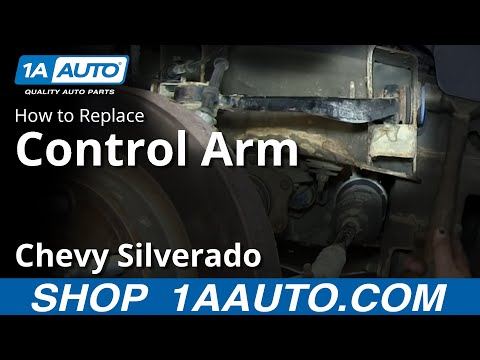 How To Install Replace Front Upper Control Arm and Ball Joint 2007-13 Chevy Silverado GMC Sierra