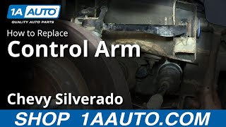 How To Install Replace Front Upper Control Arm And Ball Joint 2007 13