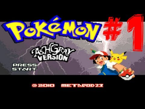 Pokemon Ash Gray Part 1 - DAMMIT PIKACHU