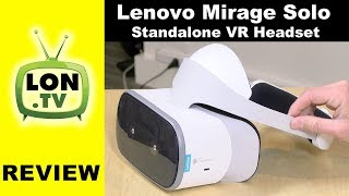 Lenovo Mirage Solo Review - Standalone VR Headset with Room Scale / Worldsense