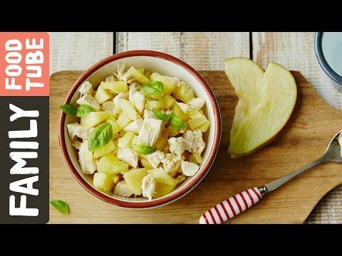 Potato, Apple & Chicken Puree | Michela Chiappa